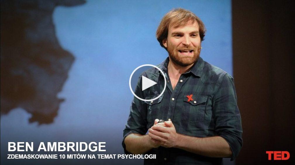 Ben Alridge mity psychologii