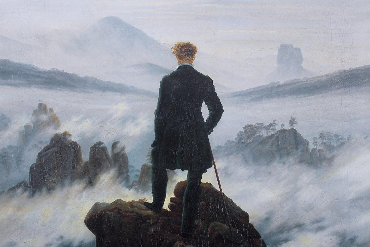 Caspar David wędrowiec