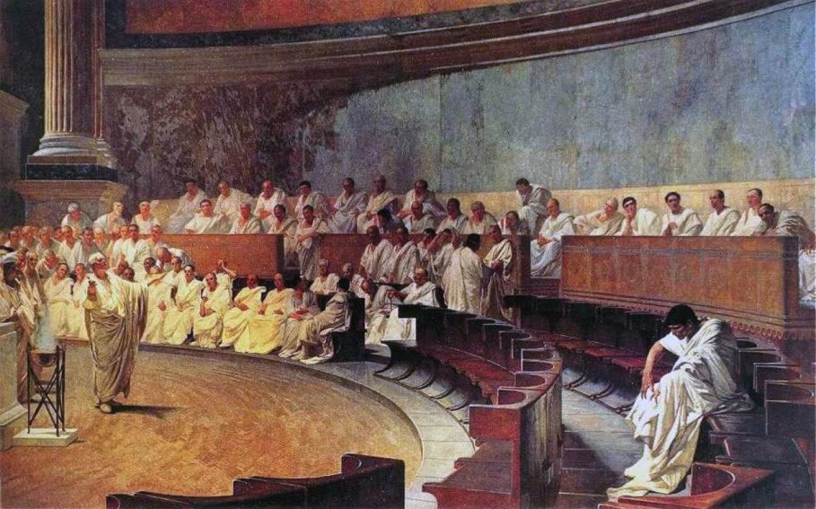 wystąpienia publiczne Cyceron