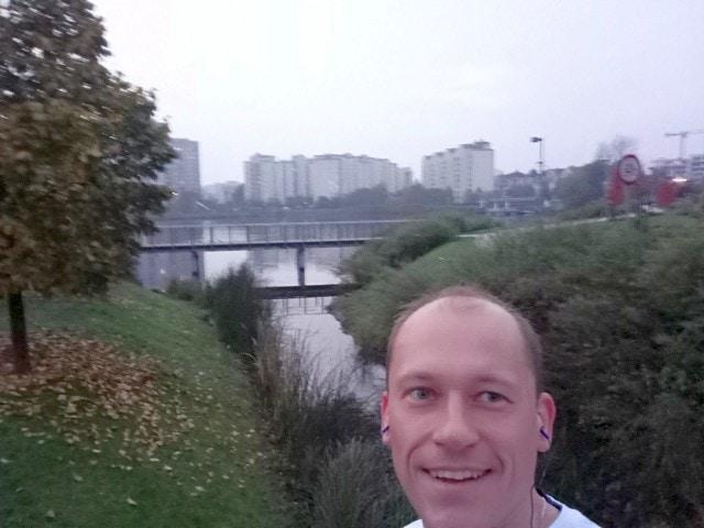 Irek poranne bieganie