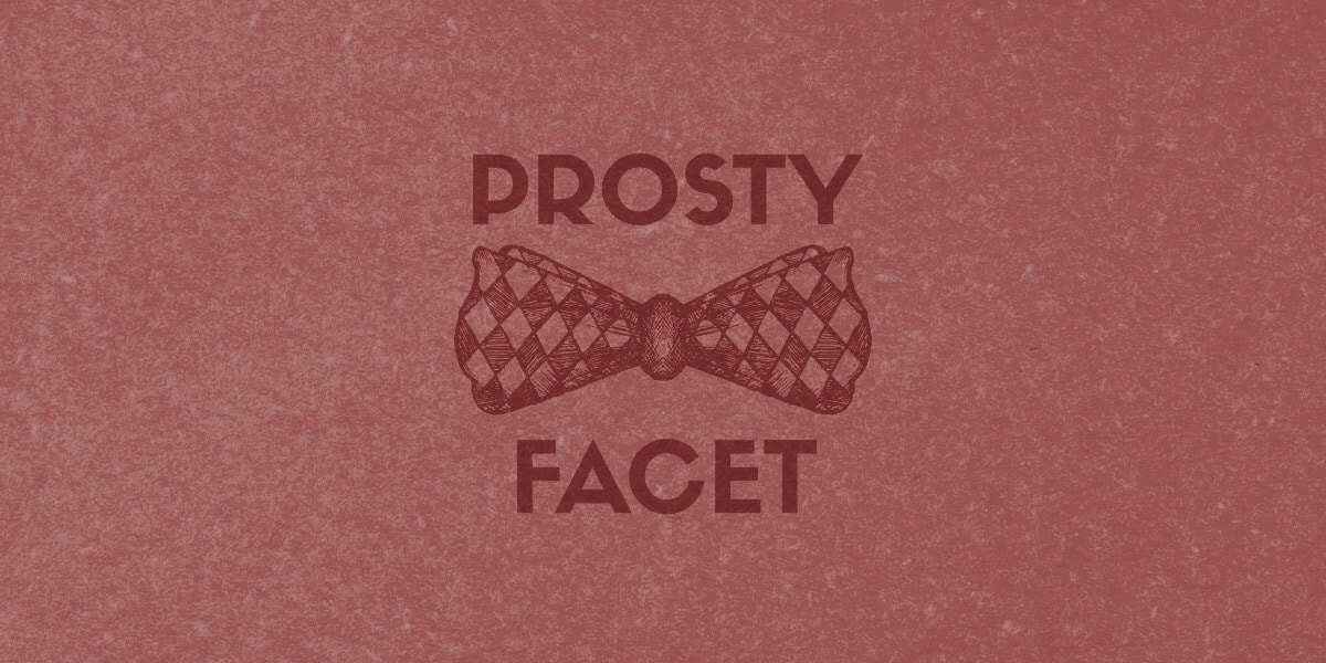 prosty facet blog wpis