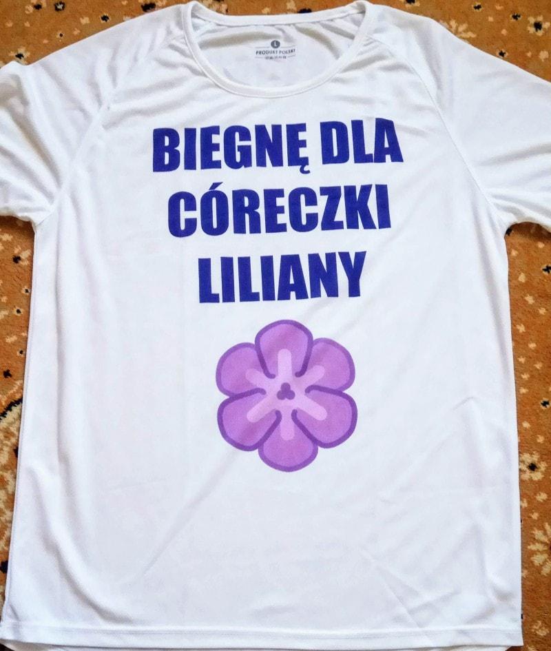 biegnę dla Liliany
